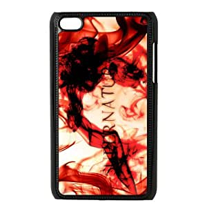 Protective iPod 4 Case,Fashion SPN Supernatural Custom Hardshell Snap On Cover Case for iPod Touch 4,4g,4th,4generation Cases