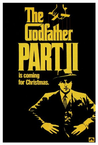 Godfather, Part 2 Poster B 27x40 Dominic Chianese Frank Sivero Gianni Russo