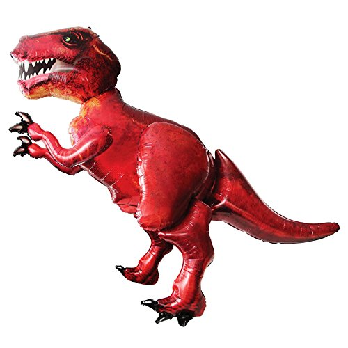 Anagram Giant 5Ft T-Rex Dinosaur Balloon Airwalker Foil Jurassic Party World Park Life Size Big Inflated Dino for sale