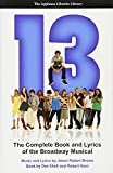 img - for 13: The Complete Book and Lyrics of the Broadway Musical (Applause Libretto Library) book / textbook / text book