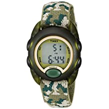 Timex Kids' 71912 Camouflage Digital Stretch Band Watch