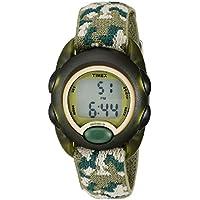 Timex reloj digital de máquinas del tiempo de niños, O/S, Verde (Green Camo)