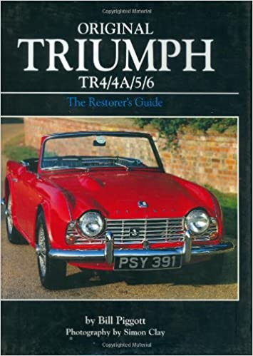 Original Triumph Tr44a56 The Restorers Guide Bill Piggott