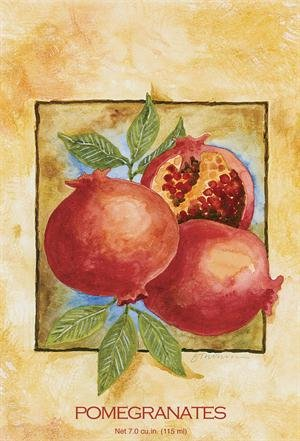 Fresh Scents Scented Sachets - Pomegranates, Lot of 6