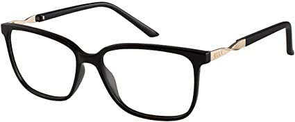 Elle Womens Eyeglasses EL13419 EL//13419 GR Gray Full Rim Optical Frame 54mm