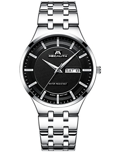Mens-Black-Wrist-Watches-Men-Waterproof-Ultra-Thin-Silver-Stainless-Steel-Watches-Day-Date-Calendar-Watch
