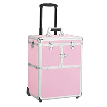 Amazon.com : Yaheetech Professional Rolling Makeup Case ...