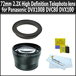 Amazon.com : 72mm 2.2X High Definition Telephoto Lens for