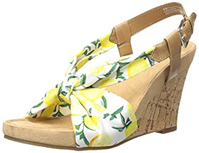 Amazon.com | Aerosoles Women's Plush Pillow Wedge Sandal ...