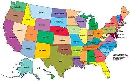 Unites State Map on