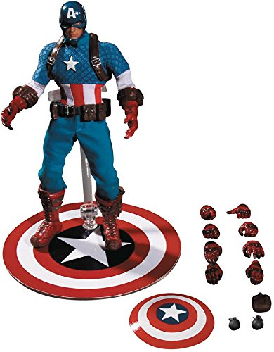 [Captain America 1:12 Collective Action Figure] (Captain America Uniform)