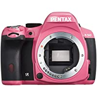 Pentax K-50 16MP Digital SLR Camera with 3-Inch LCD - Body Only (Pink) - International Version