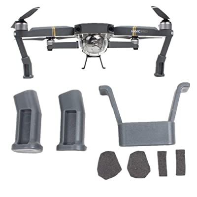 gouduoduo2020 Mavic Pro Landing Gear for DJI Mavic Pro Accessories Grey: Camera & Photo