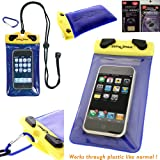 iPhone 5 DryPak Floating Waterproof Phone Holder Case with Lanyard and Belt Clip