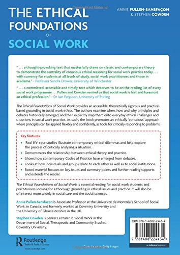 The Ethical Foundations of Social Work: Amazon co uk: Stephen Cowden