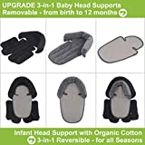 COOLBEBE Upgraded 3-in-1 Baby Head Neck Body