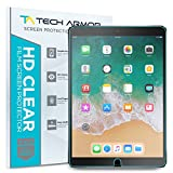 "iPad Pro (10.5"") Protector de Pantalla, Tech Armor Apple iPad Pro 10.5-inch Alta Definicion (HD) Protector de Pantalla Transparente [Paquete con 2] Garantia de Por Vida"