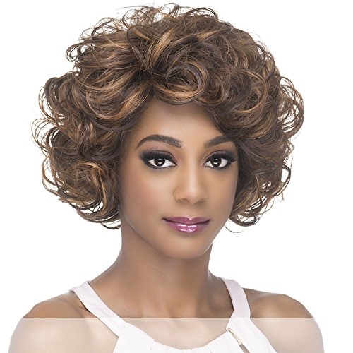 AW-LEAH (1B Off Black) - Amore Mio Synthetic Heat Resistant Fiber Full Wig ()