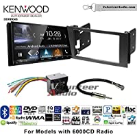 Volunteer Audio Kenwood DDX9904S Double Din Radio Install Kit with Apple CarPlay Android Auto Bluetooth Fits 2010-2011 Transit Connect