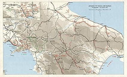 Amazon Com Salerno Landings Sept October 1943 Foggia Naples