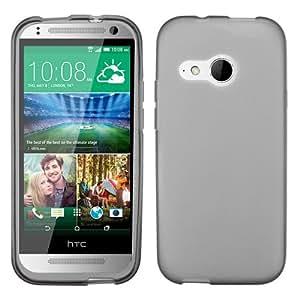 MYBAT Semi Transparent Smoke Candy Skin Cover (Rubberized) for HTC One M8 mini