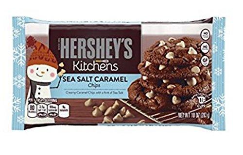 Hershey's Kitchens Sea Salt Caramel Chips, 10oz (2 Pack)