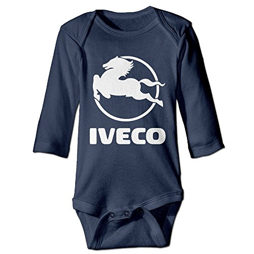 alizishop-babys-iveco-logo-climbing-clothes-bodysuit-long-sleeve
