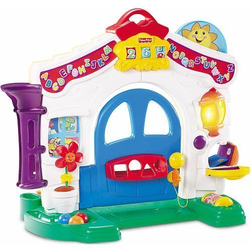 Fisher-Price Laugh & Learn Learning Home Playset (Fisher Price Smart Stages Home)