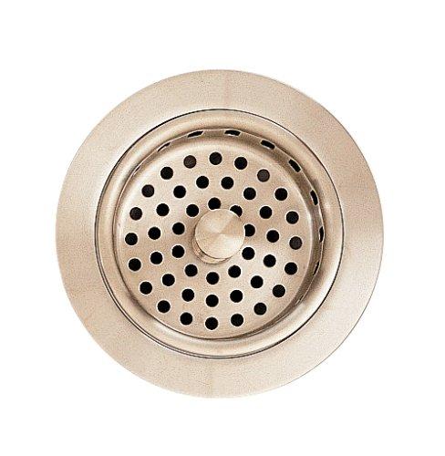 American Standard 4331.013.295 Brass Adjustable Sink Strainer Drain, Satin Nickel by American Standard