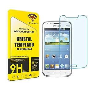 actecom® Protector Pantalla Cristal Templado Compatible con Samsung Galaxy Core DUOS GT-i8262 16