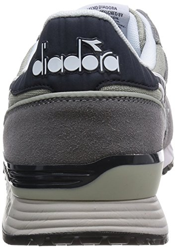 Diadora Titan Ii,  Plataformas Rectas, Unisex Gris (Grey/Blue Denim)