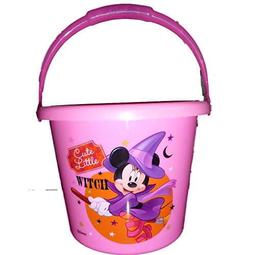 Disney Light Up Handle Halloween Basket Pail (Minnie Mouse) -