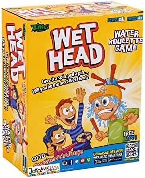 BSD Juego de Fiesta - Juego Familiar - Wet Head - Juego de Ruleta de Agua: Amazon.es: Juguetes y juegos