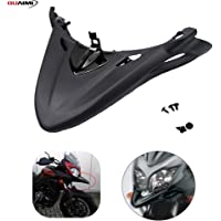 Qii lu Motorcycle Front Chain Guard,Protective Cover Carbon Fiber for MT-10//FZ-10 2016-2018