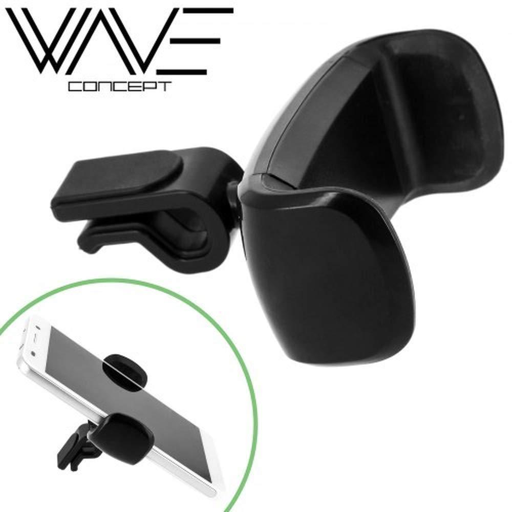 Gé né rique Aerocar Support Grille d'aé ration Extensible Wave Concept Compatible Apple Iphone 8 generic