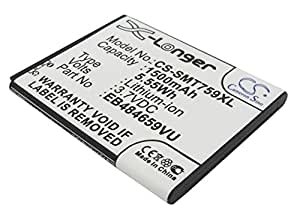 VINTRONS Rechargeable Battery 1500mAh For Samsung Galaxy Proclaim, SGH-T759, GT-I8150, GT-B9150, SGH-T679, Wave 3