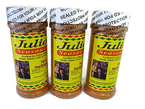 Julio's Seasoning 8oz (3 Pack)