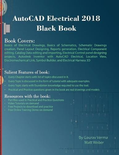 Buy AutoCAD Electrical 2018 Black Book Book Online at Low Prices in ...