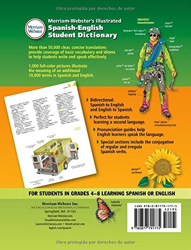 Merriam-Webster's Illustrated Spanish-English Student