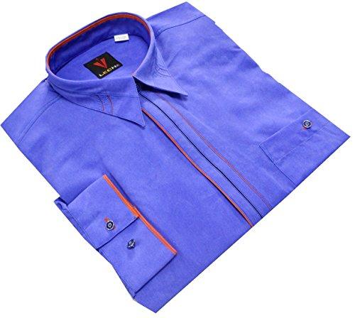"""Leché Designerhemd in Lavendelblau aus der """"Sonderedition"""""""