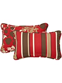 Pillow Perfect Decorative Red/Brown ...