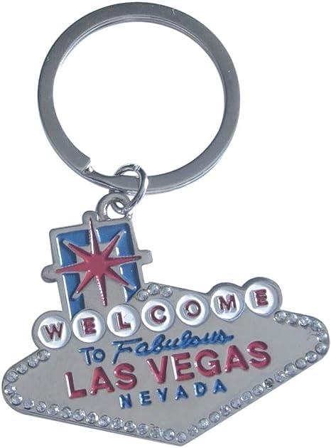 Schlüsselanhänger Mit Welcome To Las Vegas Usa Souvenir Bekleidung