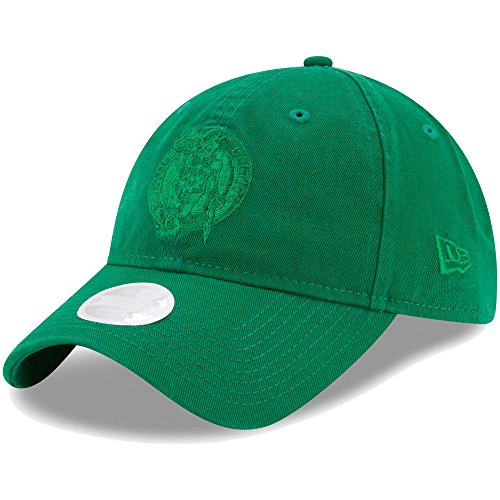 Boston Celtics New Era Women's Preferred Pick Tonal 9TWENTY Adjustable Hat Kelly - Era Boston Hats New Celtics