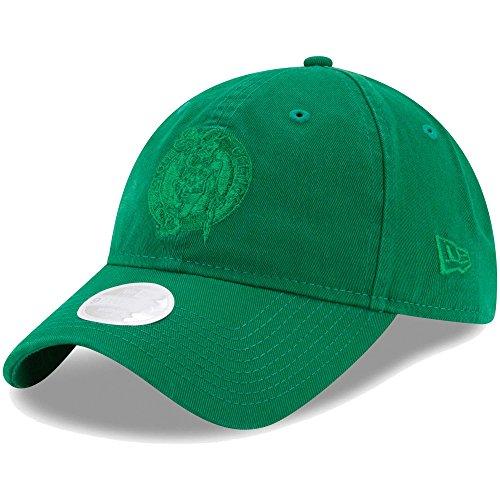 Boston Celtics New Era Women's Preferred Pick Tonal 9TWENTY Adjustable Hat Kelly - Celtics Hats Boston New Era