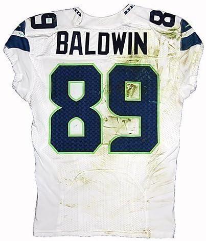 Game-Used Doug Baldwin #89 Road Jersey - Seahawks vs Packers (9.20 ...