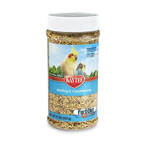 Kaytee Forti-Diet Pro Health Molting and Conditioning for All Pet Birds, 11-oz jar