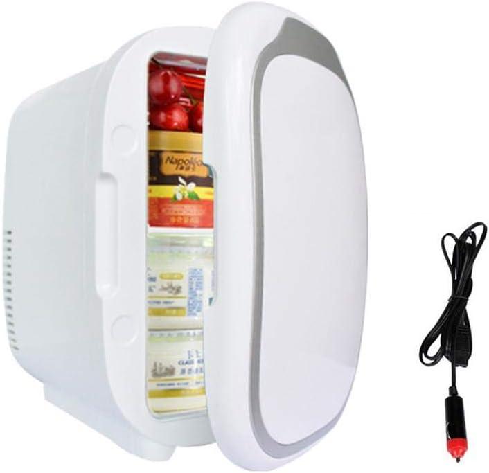 Bloomma Refrigerador de 12 voltios, frigorífico eléctrico de 6 litros Nevera portátil de Viaje, congelador Calentador, Mini congelador, congelador y Calentador para Autos,