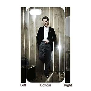 C-EUR Diy hard Case Benedict Cumberbatch customized 3D case For Iphone 4/4s