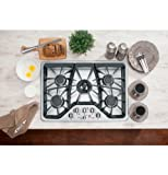 Best 30 Gas Cooktops - GE CGP350SETSS Cafe 30\