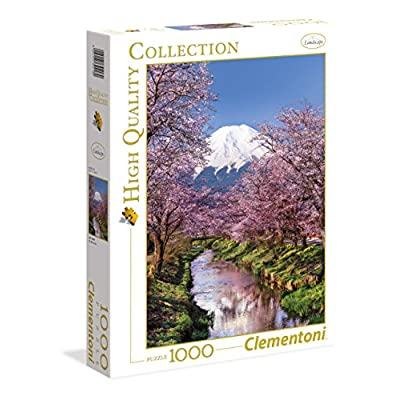 Clementoni 39418 High Quality Collection Puzzle Fuji Mountain 1000 Pezzi